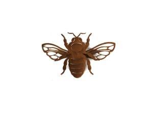 Deko Rost Biene klein