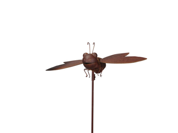 Fliegendes Insekt Garten Deko Rost