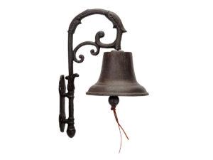 Gartendeko Rost Gusseisen Glocke