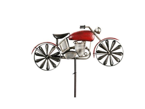 Garten Stecker Motorrad